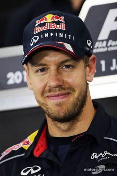Sebastian Vettel, Red Bull Racing in the FIA Press Conference | Main gallery | Photos | Motorsport.com