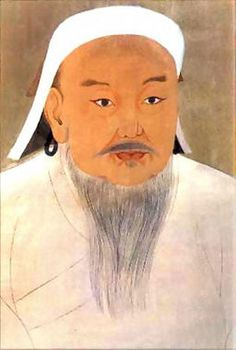 (61) Gengis Khan foi um notável governante e guerreiro mongol, considerado um dos maiores conquistadores que o mundo já viu. venceu rivais de clãs distintos e unificou os povos mongóis sob seu comando. Estrategista brilhante, venceu a grande muralha da China, e estendeu o seu império em direção ao oeste e ao sul.