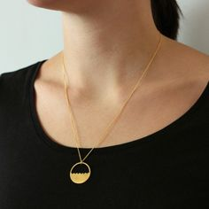 18ct Gold Plate Lois Necklace