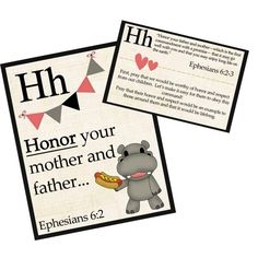 Children A-Z Prayer Cards {cute to display and includes prayer prompts for parents} by christine