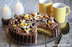 Torte Recepti, Norwegian Food, Pudding Desserts, Yummy Cakes, Food Inspiration, Cupcake Cakes, Cake Recipes, Sweet Treats, Food Porn