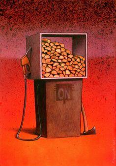 Pawel Kuczynski Satirical Art