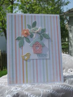 use Boho Blossoms punch and Little leaves Sizzlit or Bird punch, hand cut the rest