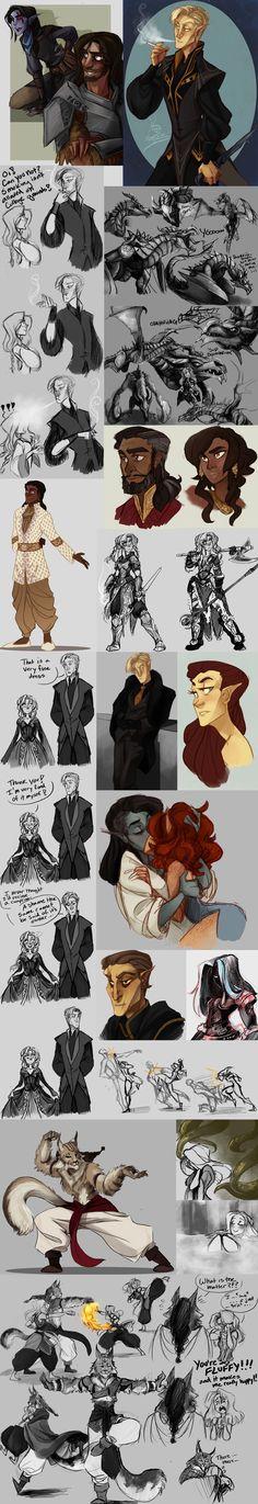 This art......fbhevhwhswjanm I'm crying at my sad drawings ;-;