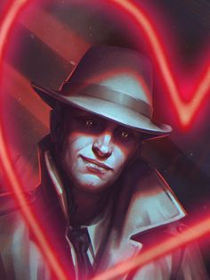 Nick Valentine_portait by inSOLense. Nothing quite like posting Fallout 4 art while you play Fallout 4-S