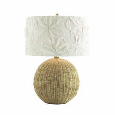 Flamingo Rattan Lamp by Arteriors