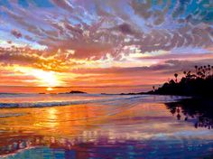 Laguna Sunset. © Ruth Mayer Fine Art.