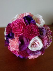 沖縄挙式に☆ パープル~ピンクのアイテムセット♡ |Ordermade Wedding Flower Item MY FLOWER ♪ まゆこのブログ