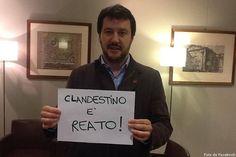 Salvini: 800mila immigrati? Lega pronta a denunciare Renzi e Alfano