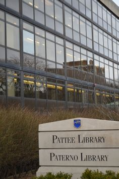 PENN STATE – CAMPUS – Paterno and Pattee Libraries