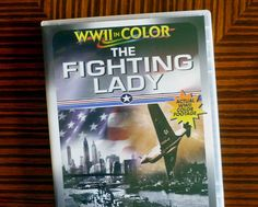 The Fighting Lady 1944 DVD Robert Taylor, William Wyler WWII in color Like New!