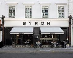 Byron, burgers, london wine bar restaurant interiors in 2 Modern Restaurant, Restaurant Design, Wine Bar Restaurant, Decoration Restaurant, Luxury Restaurant, Restaurant Interiors, Design Hotel, Design Café, Facade Design