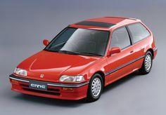 Honda Civic (the best one! Honda Civic Hatchback, Honda Crx, Honda Civic Type R, Civic Ef, Miniature Cars, Japanese Cars, Jdm Cars, Motor Car, Motor Vehicle