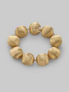 Marco Bicego: 18K Gold Large Bead Bracelet