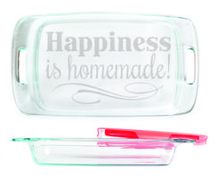 Baking Dish - Happiness is homemade