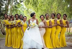 Gorgeous bridesmaids in yellow. . . .  @bedge_pictures, @bedge_extra  @moda_by_ody  hair @tobbiestouch @hermosaa_ng . . . . . . #wedding #weddingdress #bride #love #married #justmarried  #weddingplanning #weddingideas #weddinginspiration #bridetobe  #weddingdresses #bridalgown #gown #weddinggown #laceweddingdress #lacedress #lacebridalgown #sayyestothedress #bridalfashion #weddingfashion