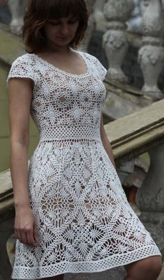 crochet dress by krinichka on Etsy