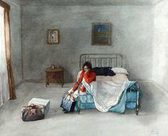 Reseña de la exposición de Cristóbal Toral en la galería Juan Gris (c/ Villanueva, 22 - Madrid), compuesta por sus acuarelas más recientes.