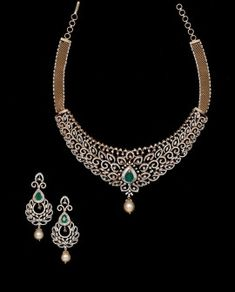 Diamond Necklace Simple, Gold Jewelry Simple, Diamond Jewelry, Diamond Bracelets, Stone Necklace, Jewelry Design Earrings, Wedding Jewelry, Choker, Jewelery