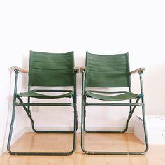 British Army Rover Chair 2脚目ゲット 1脚目は愛知は栄のCOMPASSで2脚目は福岡は薬院のeel Antiques & Repairで #RoverChair #foldingchair #COMPASS #eel #eelAntiquesandrepair by inomonta224