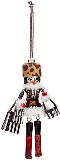 Henri Bendel Nutcracker Doll Ornament #ad