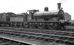 LMSR no/ 17404 was a Caledonian Railway, Drummond designed 'Jumbo' built in 1896 at the company's own St. In BR days she was numbered 57404 in February 1949 whilst allocated to Motherwell mpd which is where she would be withdrawn in Old Steam Train, Work Train, Steam Railway, Southern Railways, British Rail, Rolling Stock, Steam Engine, Steam Locomotive, Old Photos