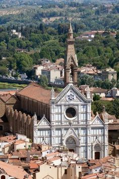 Basílica de Santa Croce, Florencia, Italia..