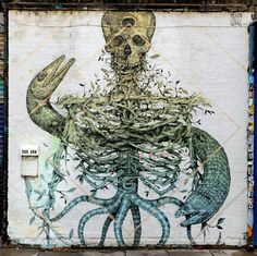 Alexis diaz - london shoreditch dtreet art - aout 2015