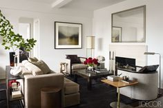 New York City Dining Room - S. Russell Groves West Village Apartment - ELLE DECOR