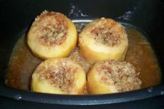 Slow cooker recipe:  EASY baked apples!  So delicious!!