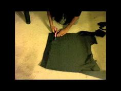 #DIY Cropped Sweatshirt video #tutorial | This girl is both <3 beautiful & (style) brilliant! <3