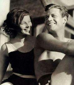 Katherine Hepburn & Joel Mc Crea