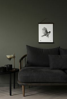 Hang this friendly black and white Siberian jay wall art print on your wall for good luck! Printed on high-quality, eco-friendly paper. Wood Poster Frames, Eco Friendly Paper, Wall Art Prints, Love Seat, Couch, Black And White, Jay, Posters, Furniture