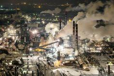 Image result for krajobraz przemysłowy