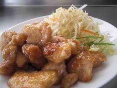 鶏むね肉の梅肉ソース♪の画像