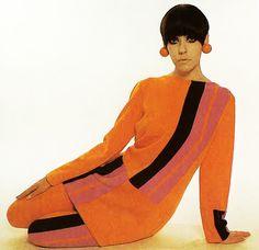 Peggy Moffit Mod 1960s