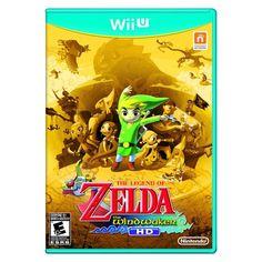 Legend of Zelda: The Wind Waker HD Gold Version (Nintendo Wii U, 2013)