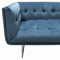Teal Velvet Sofa, Blue Velvet, King Beds, Queen Beds, Living Furniture, Home Furniture, Tufted Leather Sofa, California King Bedding, Light Decorations