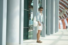 DSC08749AAAHAHAHA Ootd Poses, Pastel, Menswear, Summer, How To Wear, Tops, Style, Fashion, Swag