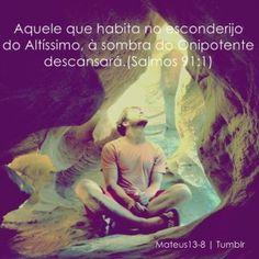 Deus é comigo!