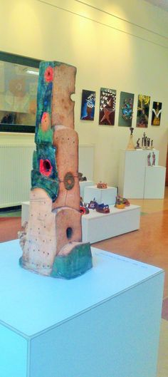 11th grade abstract sculptural works 2016 youth exhibition TED gallery
