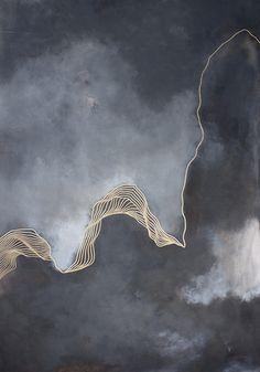 Infinite jest, 20″ x 30″ acrylique et huile sur toile, 2015 Élégance, c'est le premier terme qui me vient à l'esprit lorsque je découvre le travail de Tracie Cheng. Cette ar…