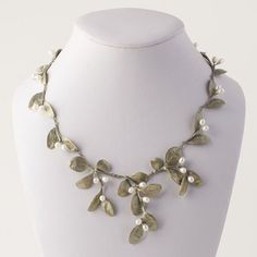 awesome Michael Michaud Boxwood Necklace - Michael Michaud Jewelry - Large Leaves...