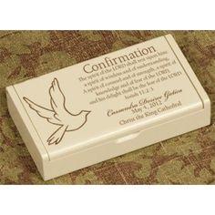 Confirmation Rosary Box - $9.95