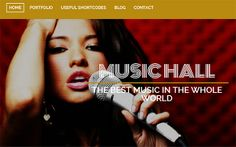 Professional WordPress Themes for Musicians
