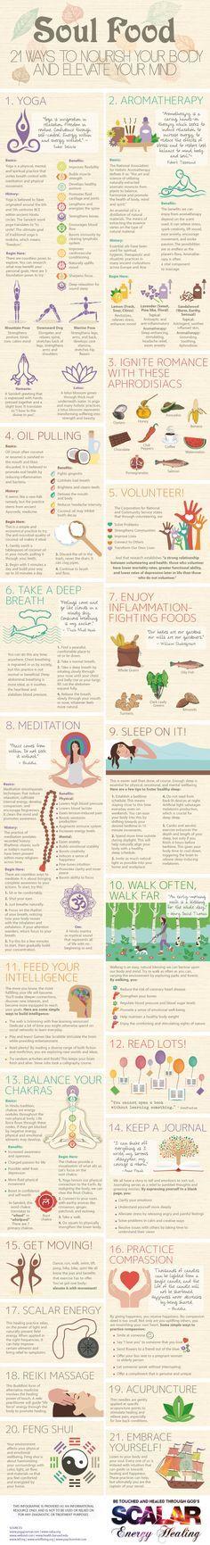 Soul Food: 21 Ways to Nourish You