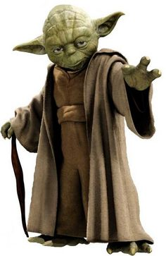 Yoda. Put a library card in his hand
