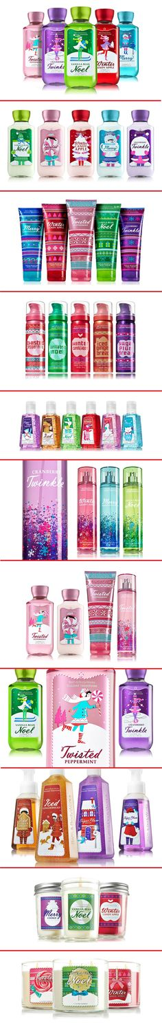 Bath & Body Works Holiday Traditions 2013 PD