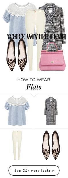 """""""Untitled #178"""" by bellatrix87 on Polyvore featuring Carven, River Island, Sophia Webster and Dolce&Gabbana"""
