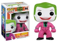 From the hit wacky 1966 Batman TV Series. This Batman 1966 TV Series The Joker Pop. Vinyl Figure features one of Batman's most maniacal nemeses The Joker (as played by Cesar Romero) rendered in the ...
